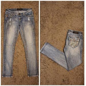 Twentyone black skinny jeans